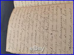 1863 CONFEDERATE SOLDIER'S DIARY with GETTYSBURG CONTENT! FANTASTIC