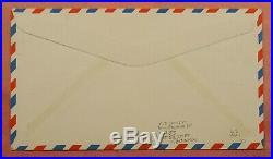 1956 Rocket Mail Signed Flown Bell X-2 Plane 6th Flight Ez# 80c1 Ex Al Barnes