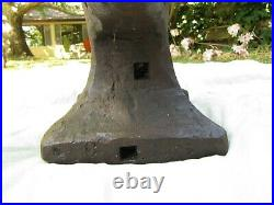 Antique Mousehole or #95 Anvil with Mouse Hole Stamp