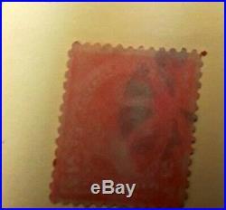 George Washington Red 2 Cent Stamp good Condition. RARE