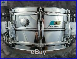 Grail Alert/b-stamp! Ludwig Vintage 1971 Lm406 Cob Supraphonic Snare Drum