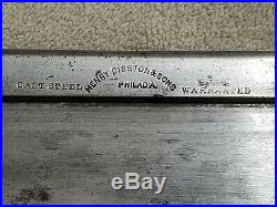 Henry Disston 8 vintage backsaw, 16tpi great used condition stamped