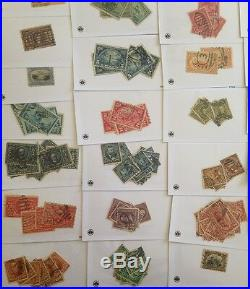OLD US Stamp Stock HIGH VALUE Early US Lots $1,000+ CV Includes Mint/Unused