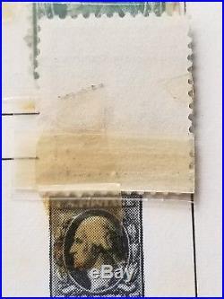 Rare George Washington 5 cent stamp Sc  423c   United States