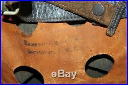 Rare Original WW2 Paratrooper Helmet, Maker & Size Stamped from U. S. GIs Estate