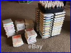 Stampin' Up! Color Caddy Holder Organizer Storage WithRetired 87 Ink Pads & More