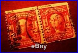 Two George Washington Two Cent Stamps