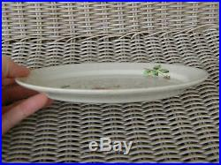 Union Pacific Portland Rose Railroad China Small 8 Serving Platter Back Stamp