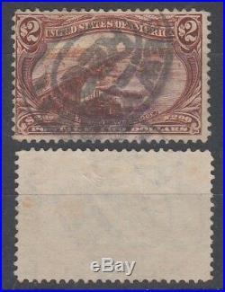 Us 1898 $2 Transmississippi Exposition Sc293 Used (idg3885)