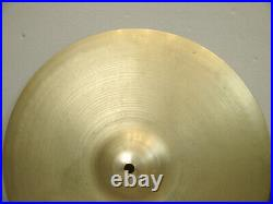 Vintage Avedis ZILDJIAN Hi Hats 14 extra thin 1.25 STAMP 725g 855g 1950's