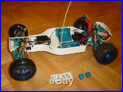 Vintage Rc10 Gold Pan A Stamped Buggy White Custom Shelf Queen Team Associated