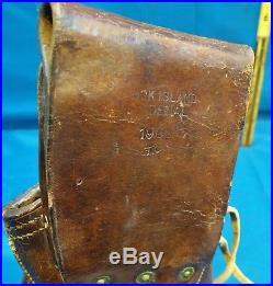 WW I US. 45 Flap Holster, Rock Island Arsenal 1905 Stamped