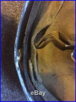 WW2 German M31 Helmet Liner Original Stamped Dated 66/58 Mp44 Luger Stg44 Dot