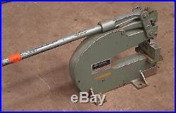 Whitney No 92 10 Ton Bench Mount Punch for Sheetmetal Die